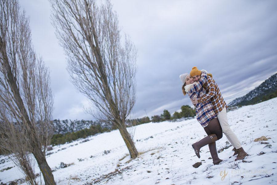 preboda en la nieve Murcia